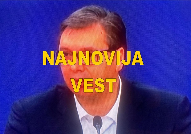 "ALEKSANDAR VUČIĆ : ""ZABRANA IZLASKA"". UVEDEN POLICIJSKI ČAS"