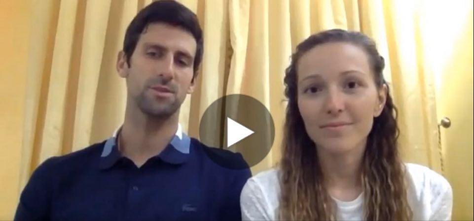 (VIDEO)Ovako je Novak donirao milion evra