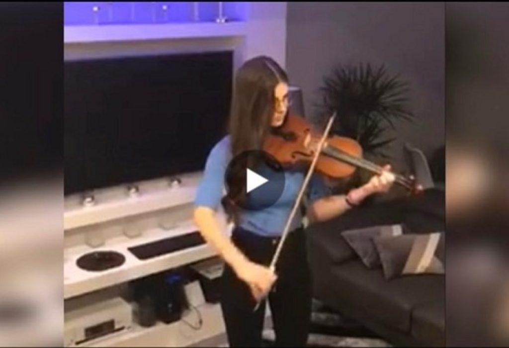 (VIDEO)PARIZ : Tijana na fenomenalan način dala podršku u borbi protiv virusa