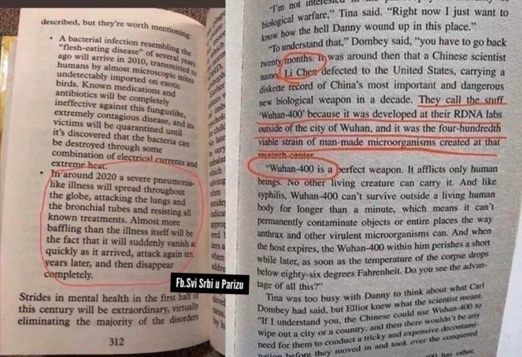 (FOTO) Knjiga iz 1981.godine u kojoj je sve predviđeno?