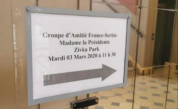 (FOTO)Pariz : Francuska poslanica nastavlja rad na učvršćivanju veza između Srbije i Francuske