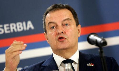 Ivica Dačić : Očekuje se ponovo let iz Pariza