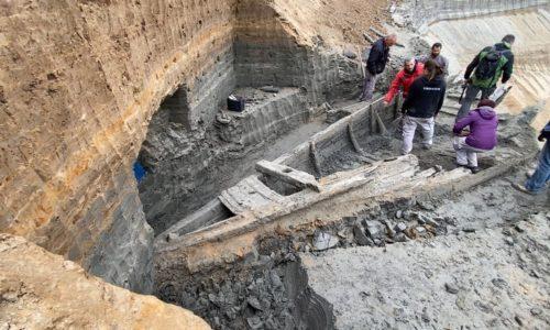 (VIDEO)URGENT. Un navire de l'époque romaine exhumé en Serbie