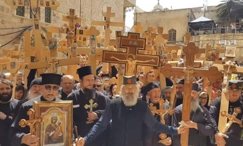Demain c'est le Grand Vendredi Saint orthodoxe
