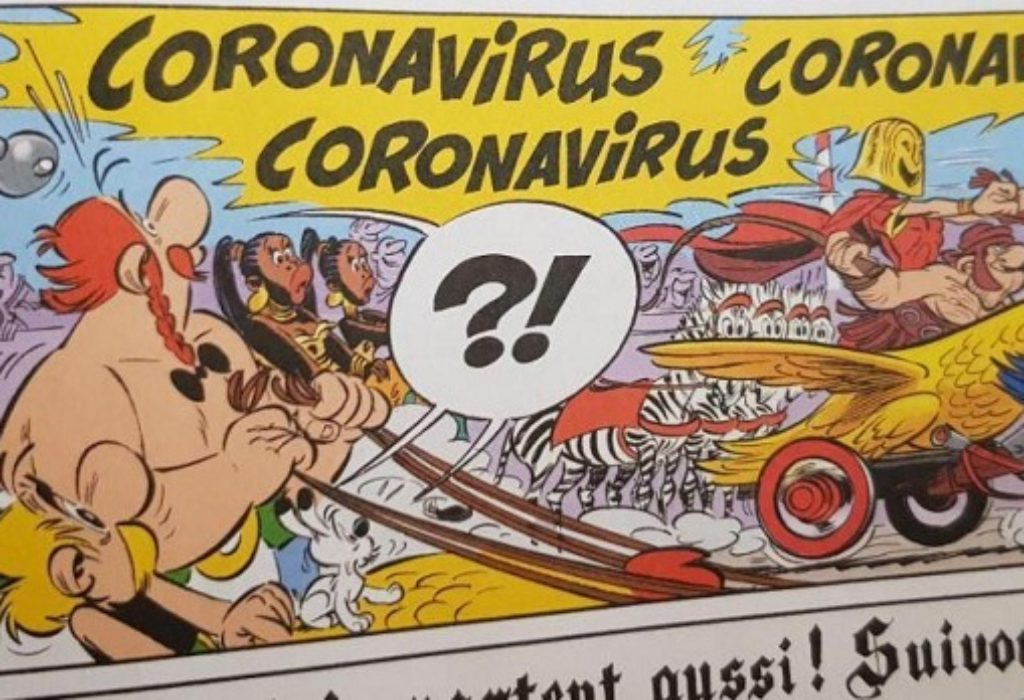 (VIDEO) Asterix prvi o Korona virusu?