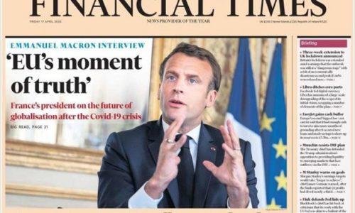 MAKRON : Za nas je nastupio trenutak istine. EU se bori sa opstanak