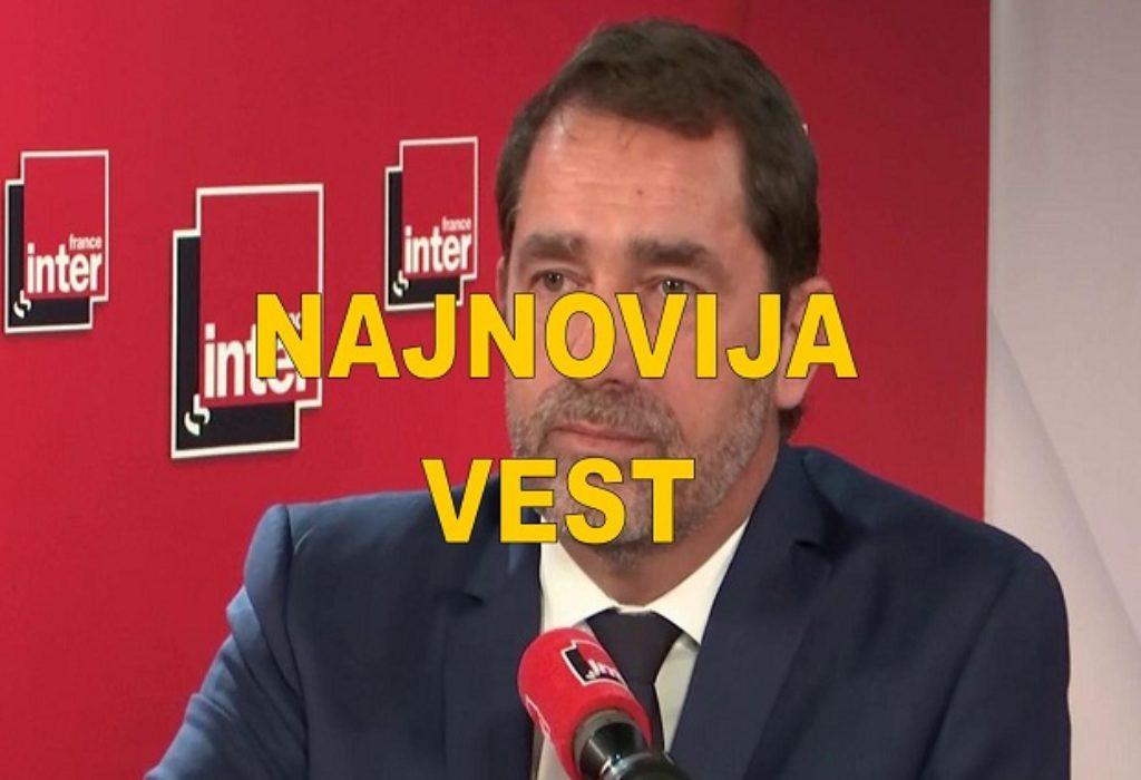 Christophe Castaner : Ukidanje mera posle 11.maja nije sigurno ali je cilj da tako bude