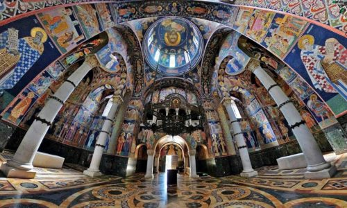 (VIDEO)Serbie : Magnifique mausolée royal d'Oplenac