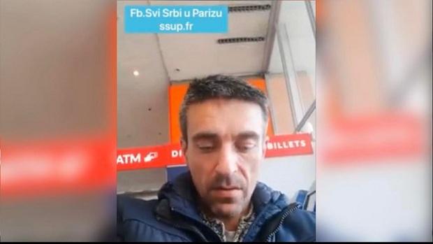 (VIDEO)PARIZ : HITNO. SRBIN GLADAN, ŽEDAN I BEZ SMEŠTAJA. PROMAŠIO JUČERAŠNJI LET
