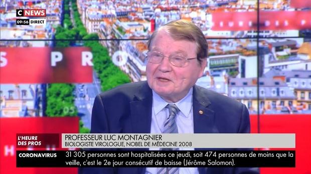 Luc Montagnier : Virus nije prirodan. On je produkt molekularnih biologa. U njemu se nalaze i delovi HIV-a?