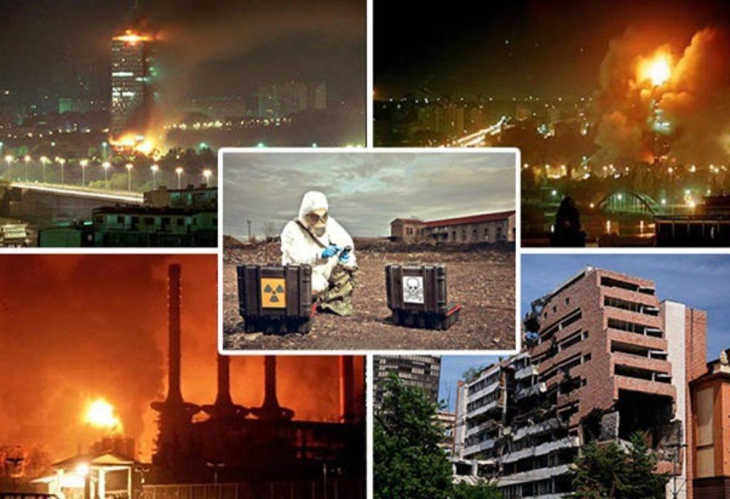 (VIDEO)SERBIE : Bombardements à l'uranium appauvri effectués par l'OTAN