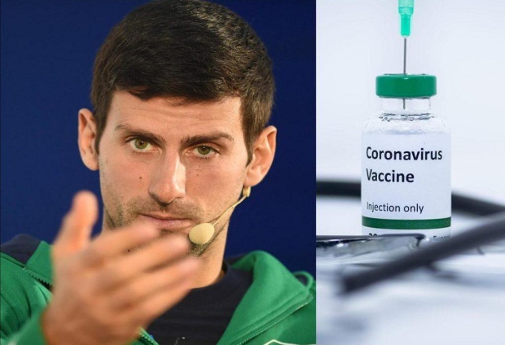 Djokovic : je n'aimerais «pas que quelqu'un m'oblige à me faire vacciner pour voyager.»