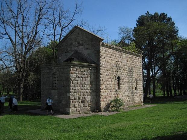 L'Eglise Saint-Jean-Baptiste de Samodreža où il a été enterré Miloš Obilić