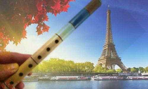 (VIDEO)Pariz : Veseli Srbin svira frulu na sred ulice