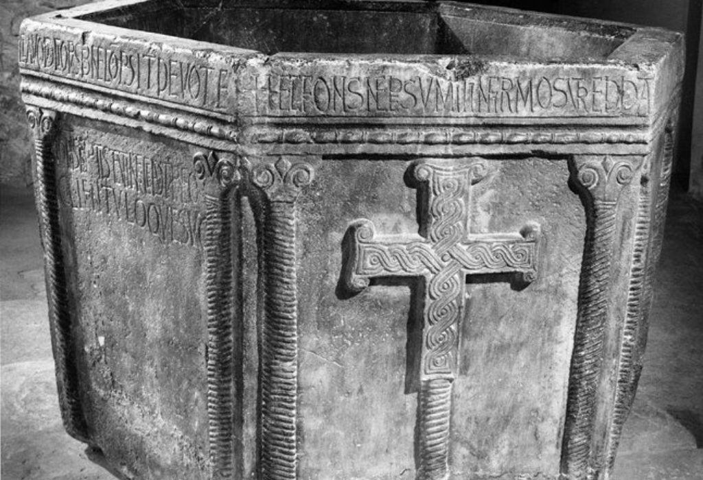 Ce baptistère serbe de VIIIe siècle se trouve aujourd'hui en Croatie