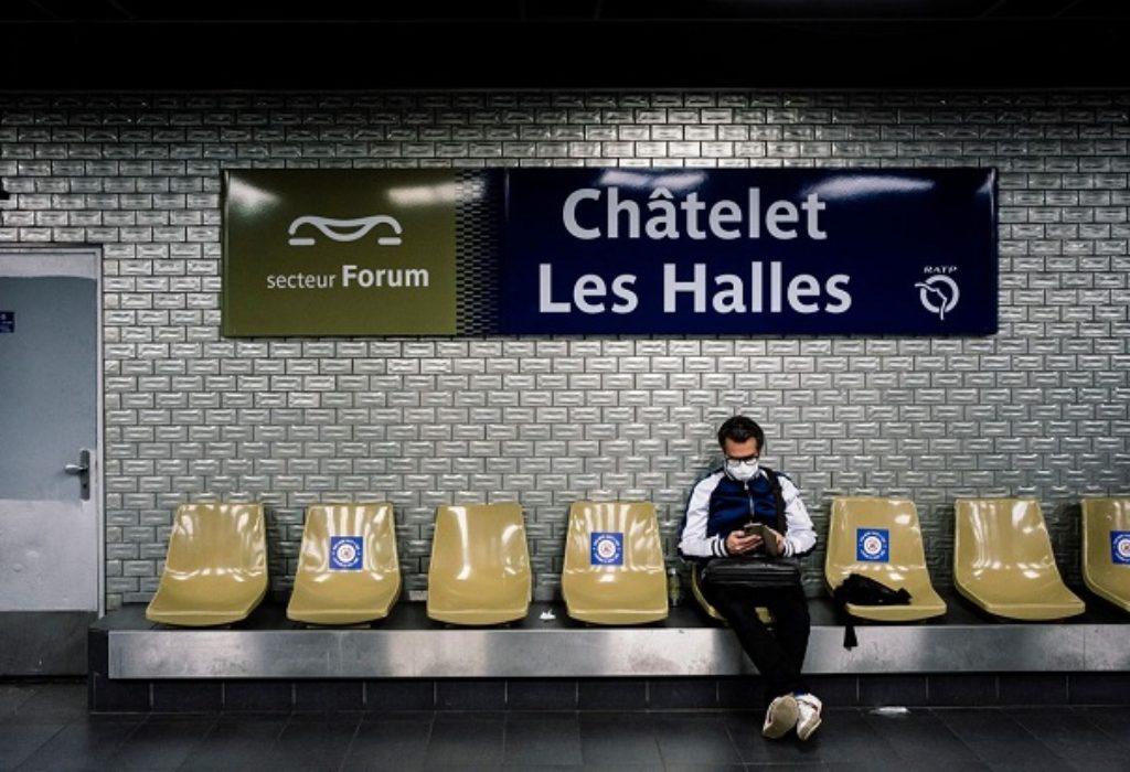 Pariz : Lista zatvorenih metro stanica od ponedeljka. Kamere prijavljuju ko ne nosi masku