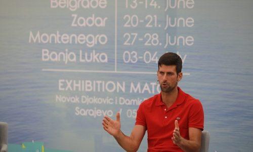 """Adria Tour"" : Novak Djokovic interdit d'entrée au Montenegro."