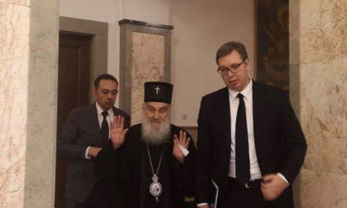 (VIDEO)Predsednik Vučić i Patrijarh Irinej o ozbiljnom stanju u Crnoj Gori