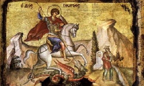 """Aujourd'hui c'est la """"slava"""" Saint Georges chez les Serbes"""
