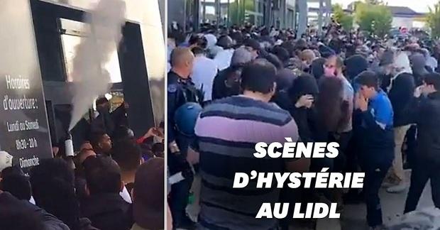 (VIDEO)Francuska : Red tokom noći zbog PS4 u Lidl-u za 95 €. Žandarmerija intervenisala zbog gužve i sukoba