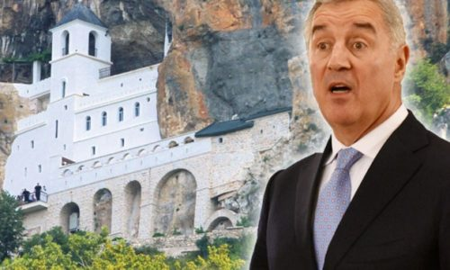 DJUKANOVIC CONTINUE LA TERREUR CONTRE L'EGLISE ET LE PEUPLE SERBE! Amfilohije est poursuivi en justice, on détruits les sanctuaires