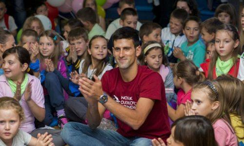 L'aide totale de Djokovic s'élève à 5,5M€ au peuple serbe pendant la pandémie