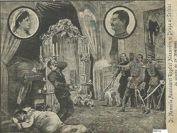 En ce jour, les Serbes ont assassiné leur roi Aleksandar Obrenovic