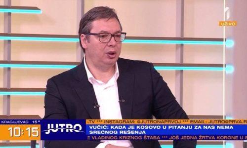 (VIDEO)Vučić : Odmah da kažem da za nas nema srećnog rešenja za Kosovo