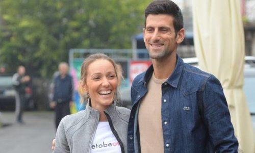 Novak Djokovic et son épouse testés négatifs au coronavirus