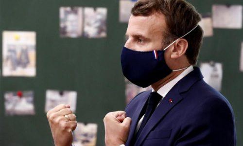 (VIDEO)Emanuel Makron odbio ideju besplatnih maski za građane