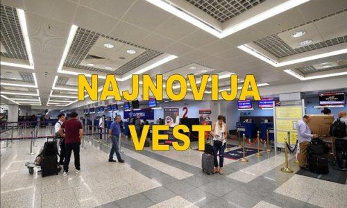 (FOTO)Beograd : Haos na aerodromu. Vraćaju se putnici koji lete za Pariz