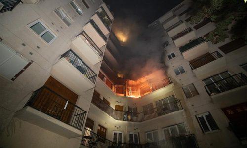 (FOTO)Pariz : Strahovit požar u višespratnici. Ima mrtvih i teško povređenih