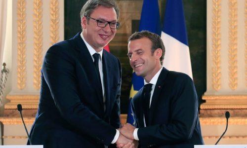 PARIZ : U ČETVRTAK, VUČIĆ I MAKRON OČI U OČI