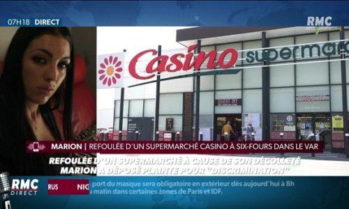 """(FOTO)Francuska : Izbačena iz prodavnice zbog """"provokativnog dekoltea"""""""