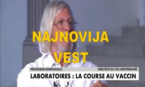"""Didier Raoult : """"Korona virus nije smrtonosniji od ostalih bolesti; nije gori od gripa"""""""