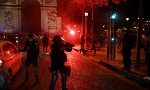 (VIDEO) Pariz : Slavlje navijača preraslo u nerede