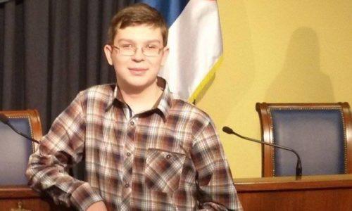 Le Serbe, Zarko Ivkovic, le meilleur jeune chimiste du monde