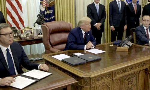 Vucic, Hoti et Trump nominés pour le prix Nobel de la paix