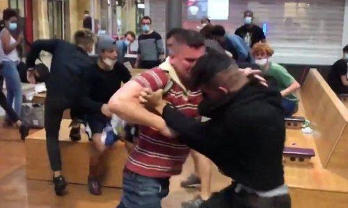 (VIDEO)Pariz: Rus uspeo da se odbrani od bande lopova