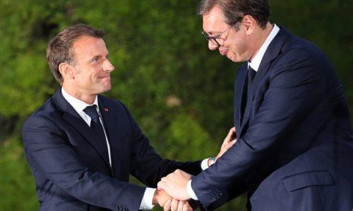 Le soutien de Vučić à Macron concernant l'acte terroriste en France