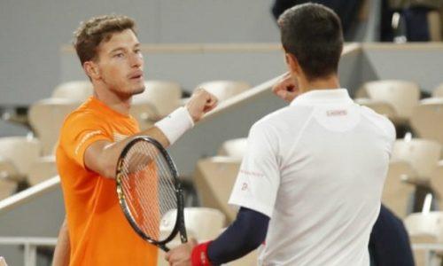 RG: Djokovic l'a félicité et lui, il accuse Djokovic d'abuser