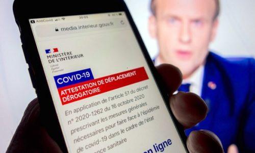 Francuska: Od danas bez ovih potvrda ne možete van kuće