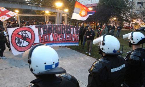 Srbija: Protest protiv migrantskog nasilja