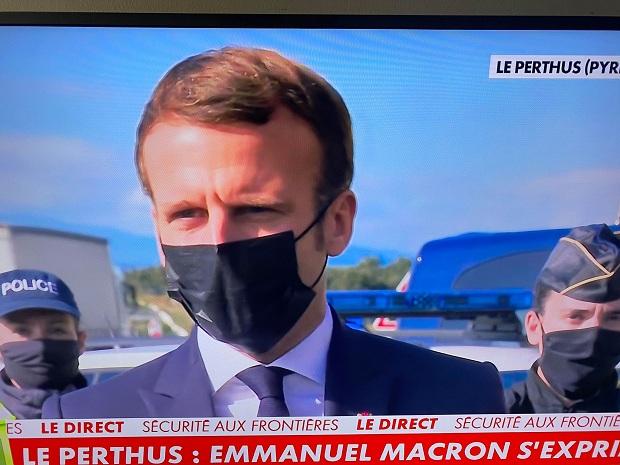 Makron: Francuska ojačava kontrole na drumskim granicama