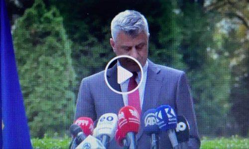 """Tači se predao Euleksu. Potvrđena optužnica za zločine """"OVK"""" u Hagu"""