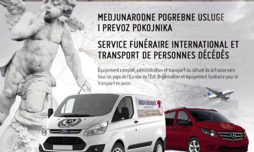 """""""Milenković"""" – Prevoz pokojnika i međunarodne pogrebne usluge"""
