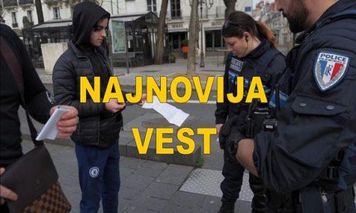 (FOTO)Francuska: Nova potvrda bez koje ne možete iz kuće