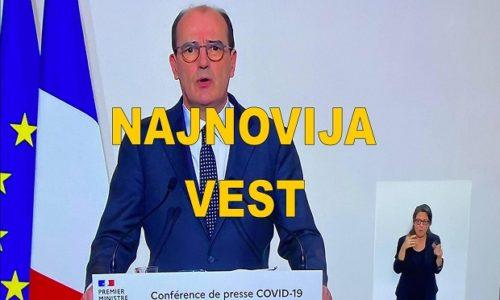 FRANCUSKA: PREMIJER SE OBRATIO NACIJI. OVO JE ODLUČENO