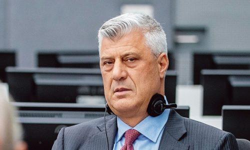 Pas de visites pour Hashim Thaçi à La Haye