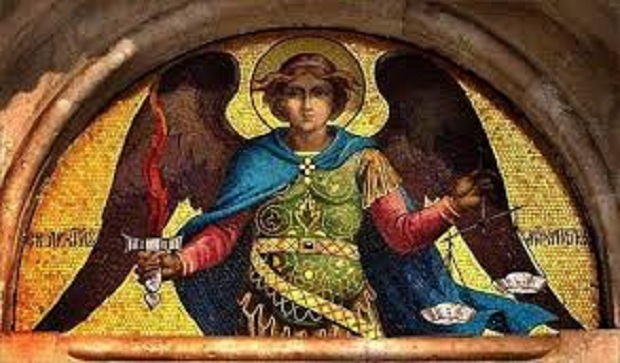 """Demain, c'est le Saint Archange Michel. """"SLAVA"""" chez les Serbes"""